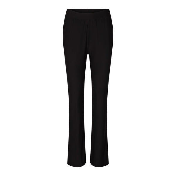 ALMA-FLAIRED-PANTS - BLACK
