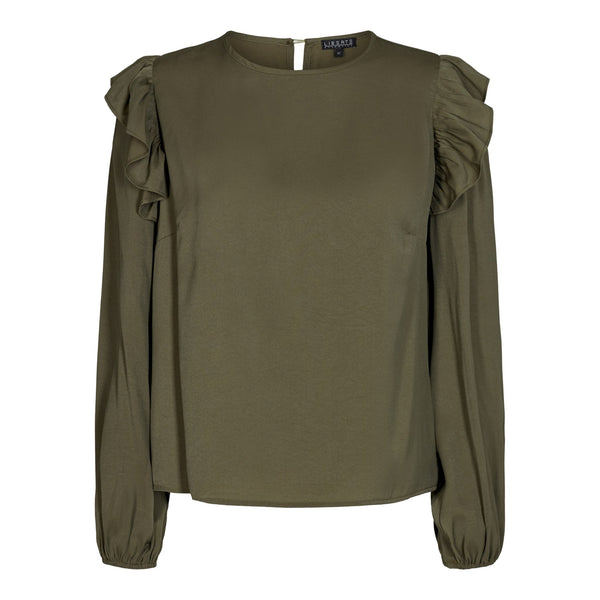 NORA-BLOUSE - ARMY
