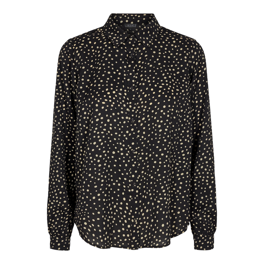 KIRSTY-SHIRT - BLACK