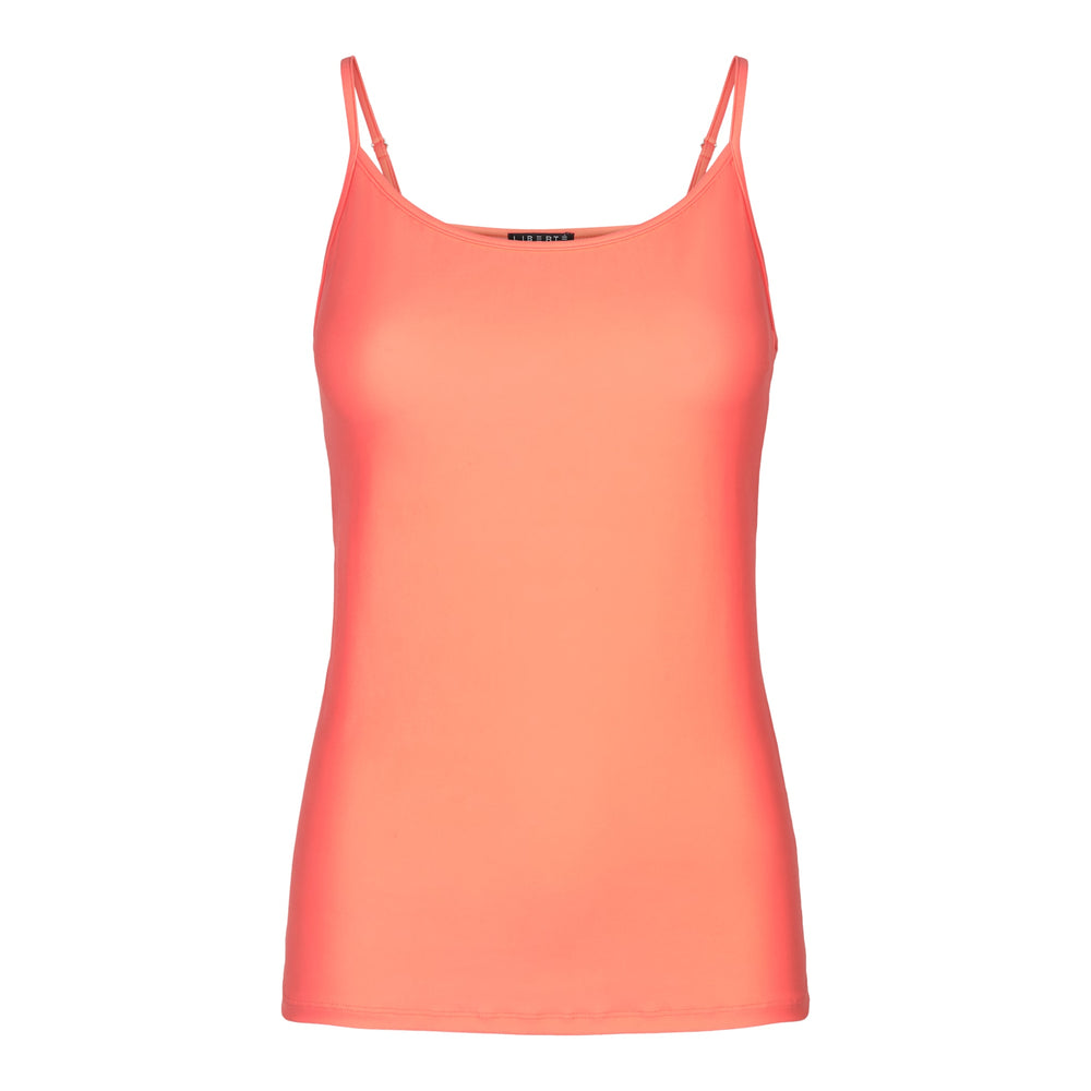 ALMA-STRAP-TOP - LIVING CORAL