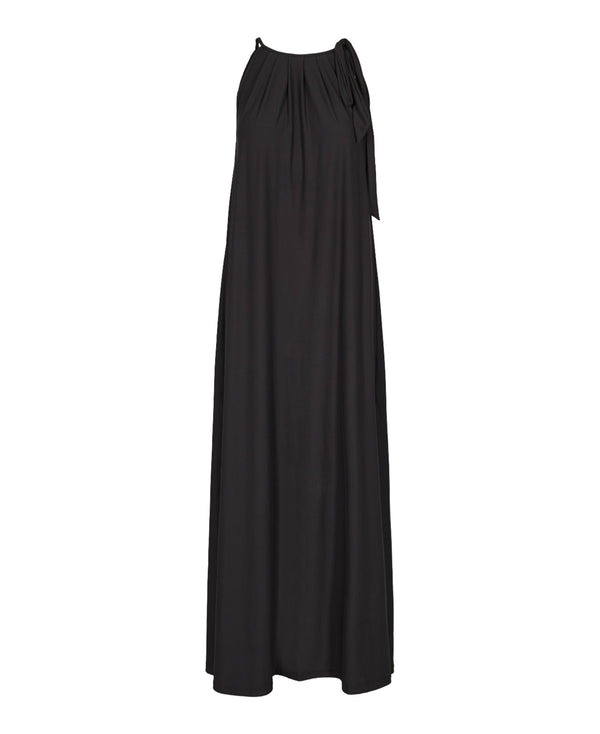 ALMA-MAXI-DRESS - BLACK