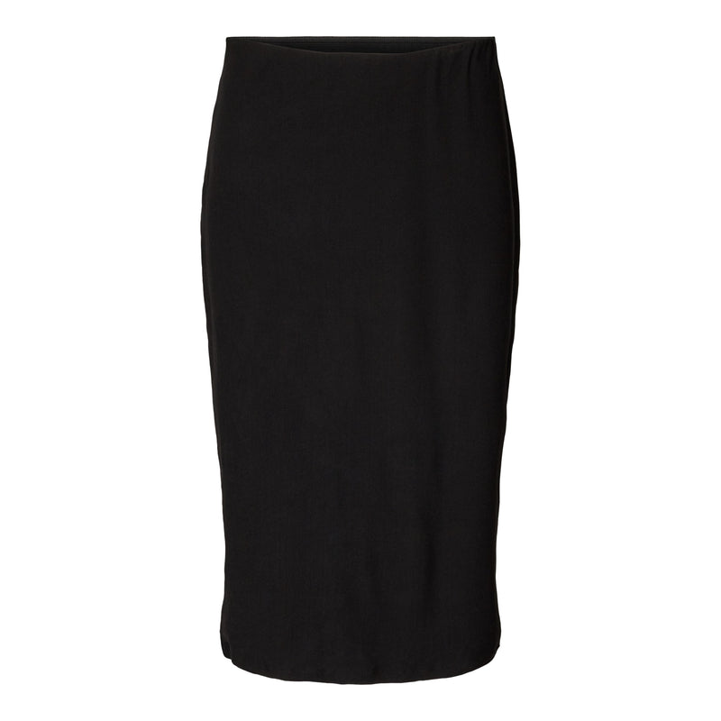 ALMA-PENCIL-SKIRT - BLACK