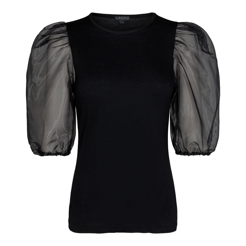 NYNNE-BLOUSE - BLACK