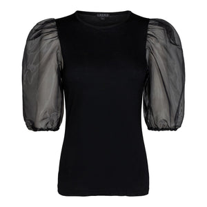 Load image into Gallery viewer, NYNNE-BLOUSE - BLACK