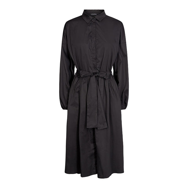 KATIE-SHIRT-DRESS - BLACK