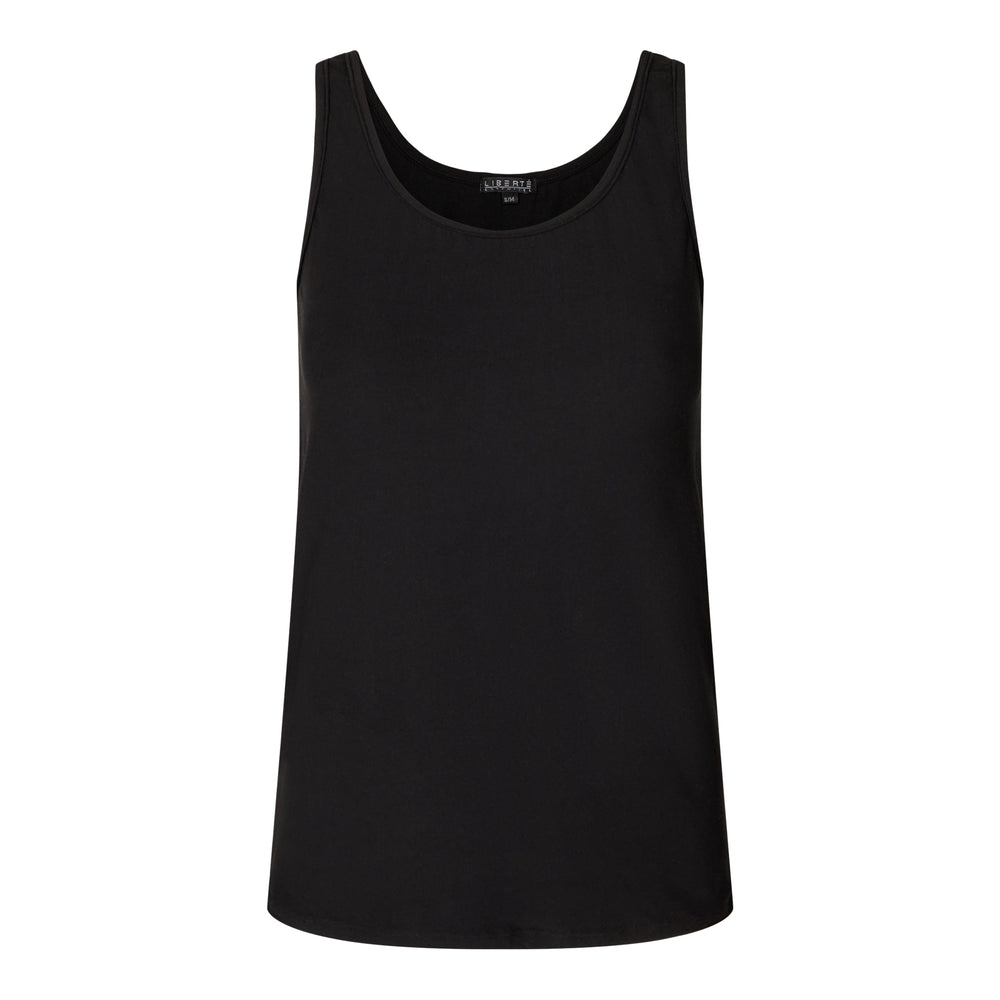 ALMA-TANK-TOP - BLACK