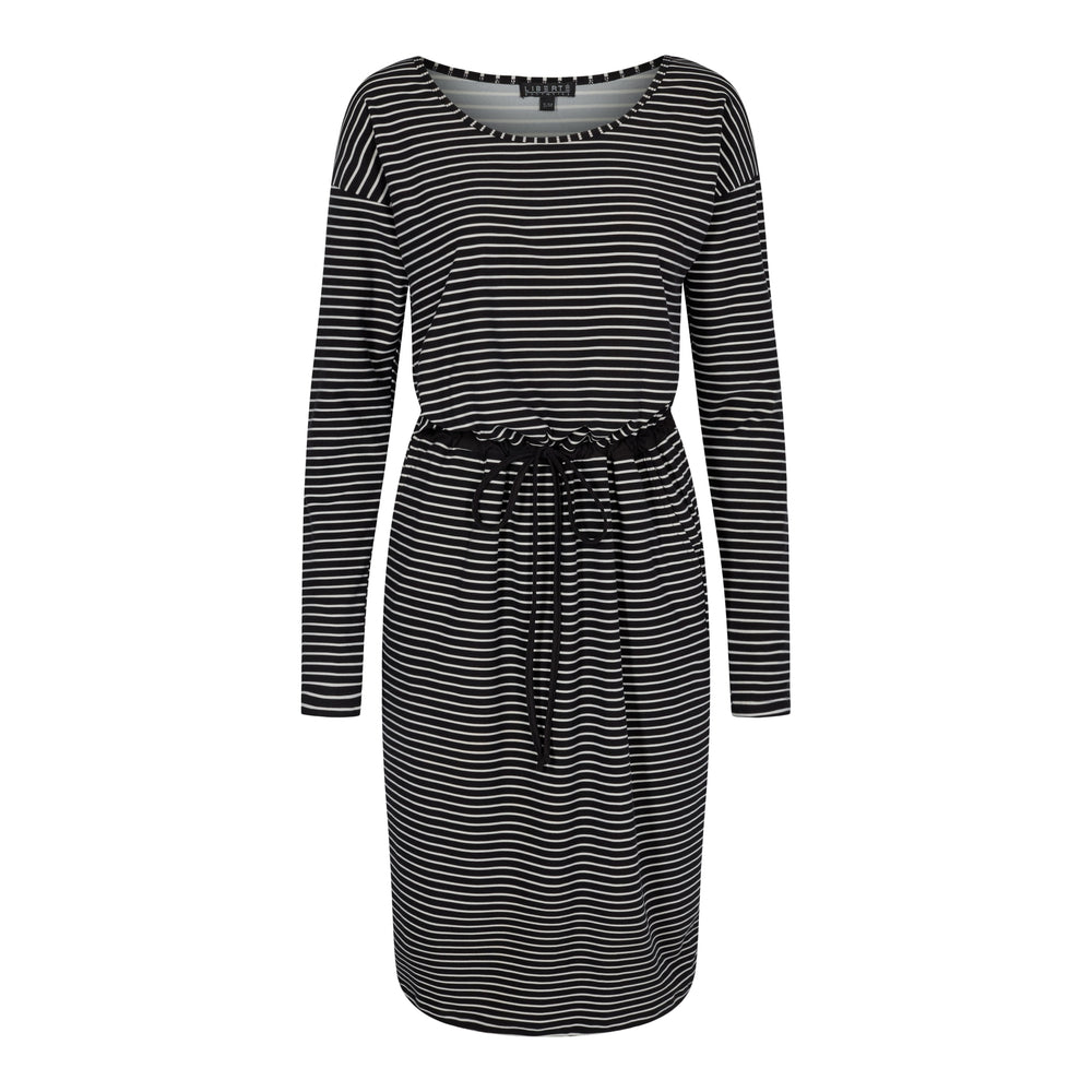 ALMA-DRESS5 - BLACK/WHITE