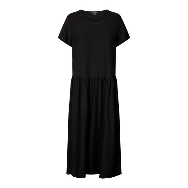 ALMA-SHORT-DRESS - BLACK