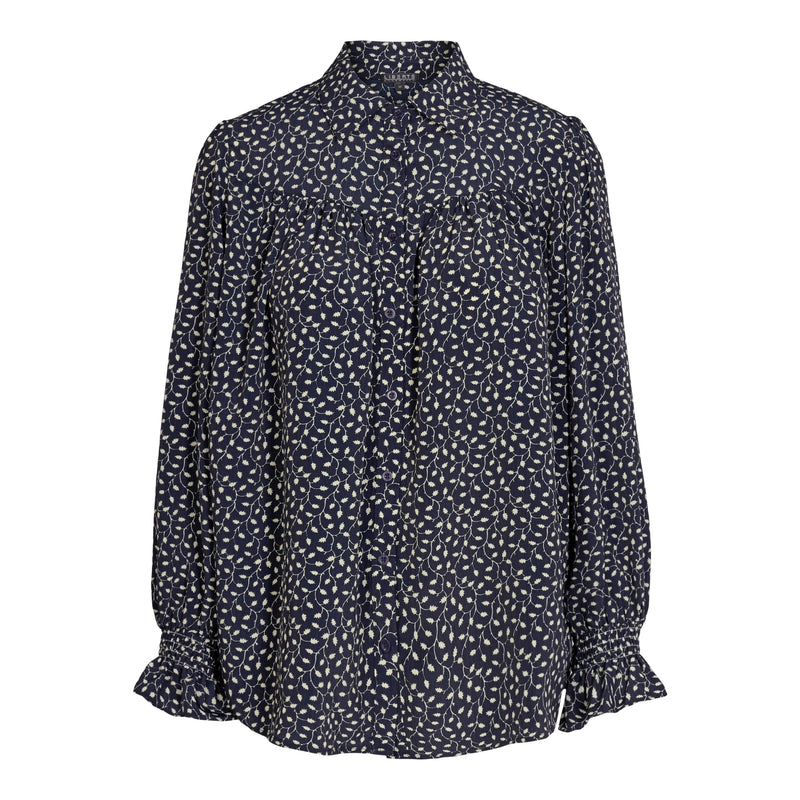 KARLA-SHIRT - NAVY