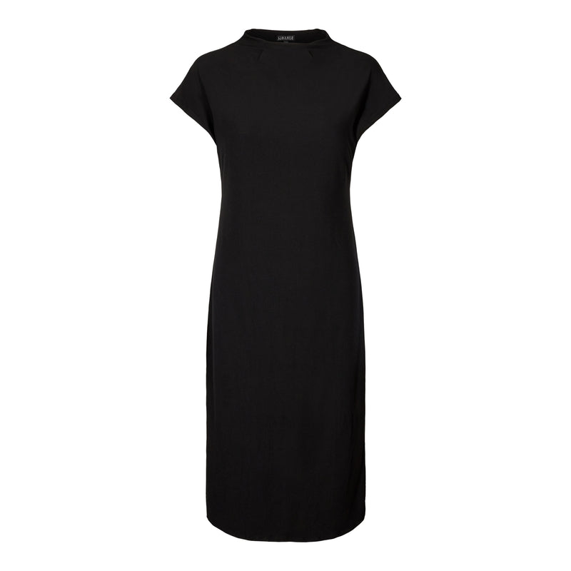 ALMA-T-DRESS - BLACK