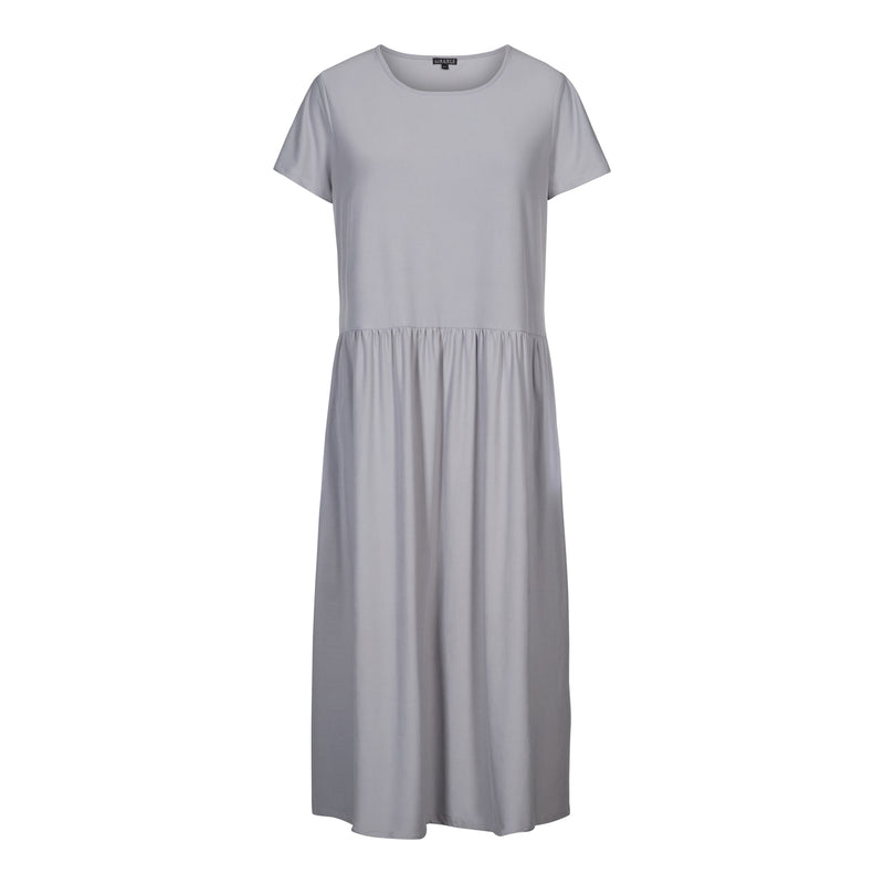 ALMA-SHORT-DRESS - Silver Scone