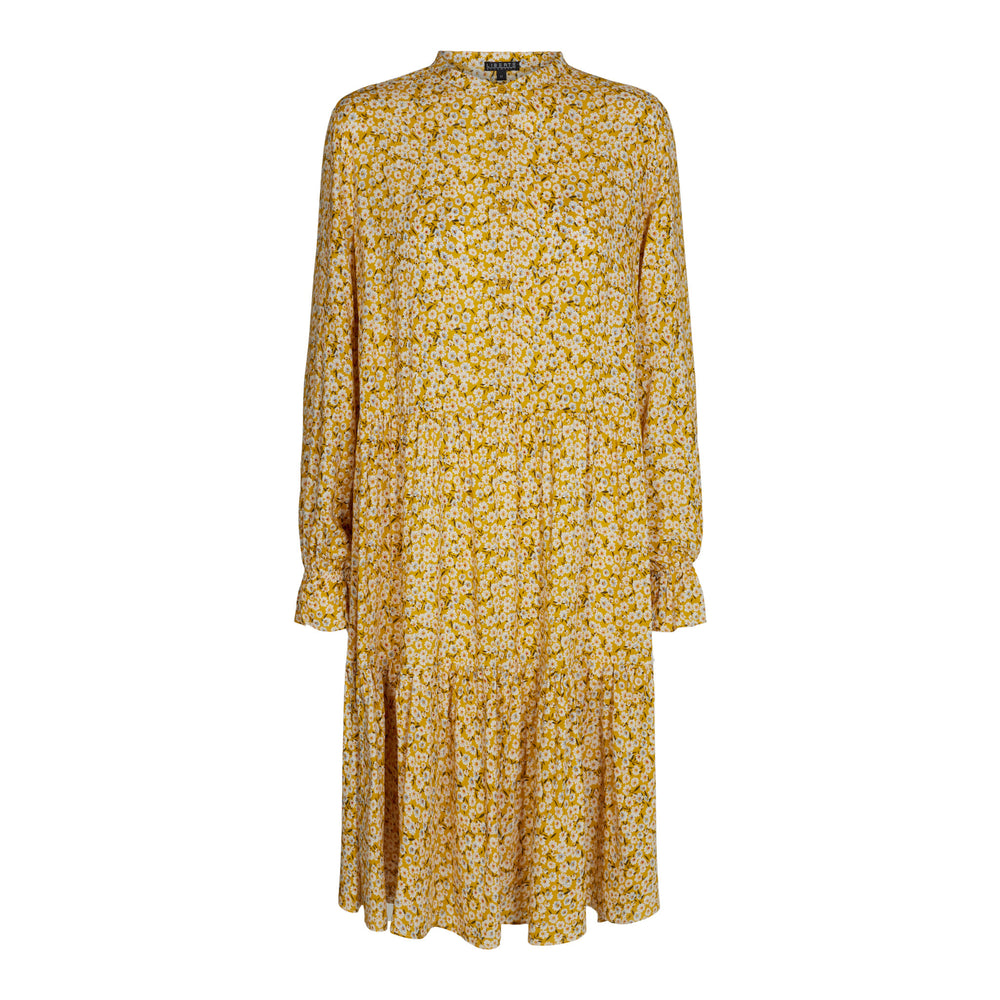 Load image into Gallery viewer, KARLA-DRESS - MUSTARD