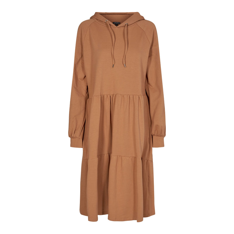 MELISSA-DRESS - CARAMEL