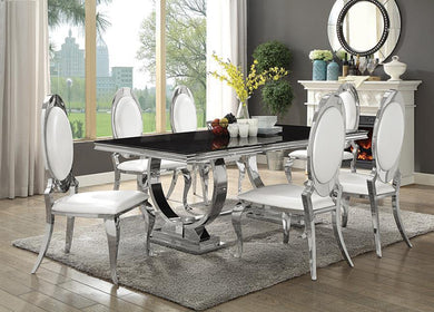 Antoine Chrome Dining Set