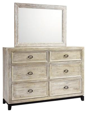 Halamay Dresser and Mirror