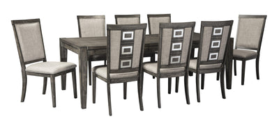 Chadoni Dining Table Set-Jennifer Furniture