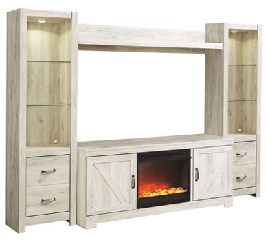 Bellaby 4Piece Entertainment Center with Fireplace