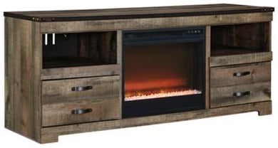 Trinell 63 TV Stand with Electric Fireplace