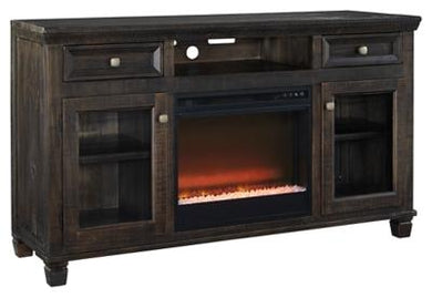 Townser 62 TV Stand with Electric Fireplace