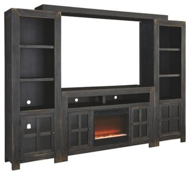 Gavelston Entertainment System with Fireplace Insert