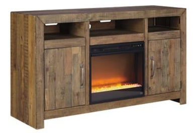 Sommerford 62 TV Stand with Electric Fireplace