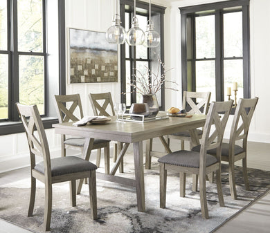 Aldwin Gray Rectangular Dining Room Set