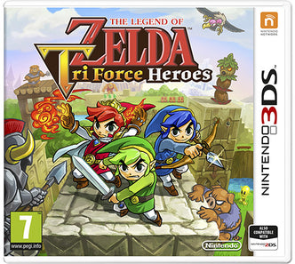 3DS - The Legend of Zelda:Tri Force Heroes - PAL