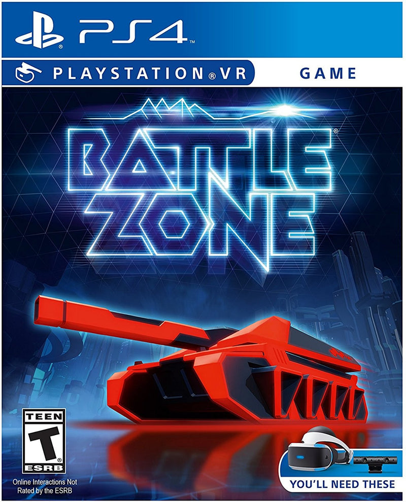 PS4 - BATTLEZONE VR