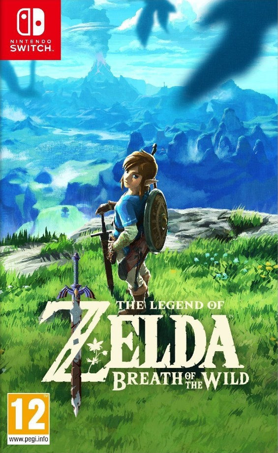 Nintendo Switch - The Legend of Zelda Breath of the Wild