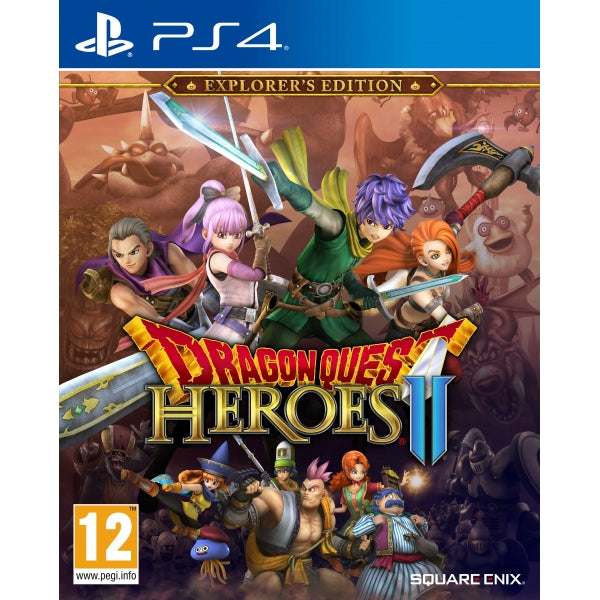 PS4 - Dragon Quest Heroes 2: Explorer Edition