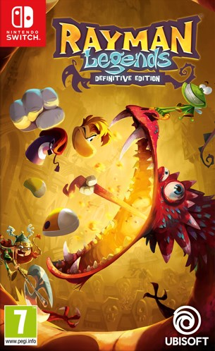 Nintendo Switch - Rayman Legends Definitive Edition