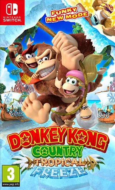 Nintendo Switch - Donkey Kong Country: Tropical Freeze