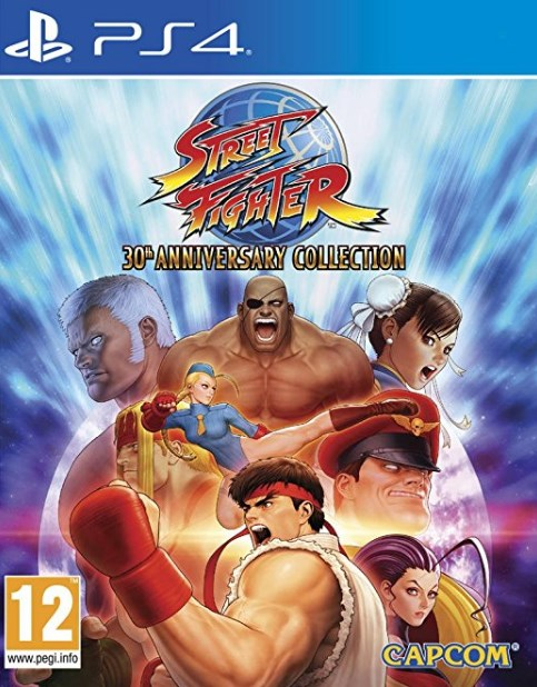 PS4 - Street Fighter: 30th Anniversary Collection