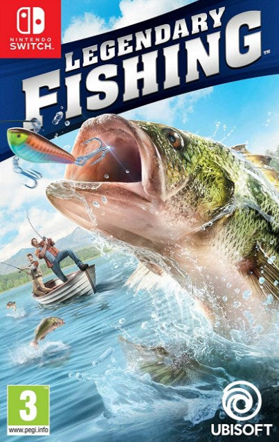 Nintendo Switch - LEGENDARY FISHING