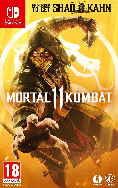 Nintendo Switch - Mortal Kombat 11