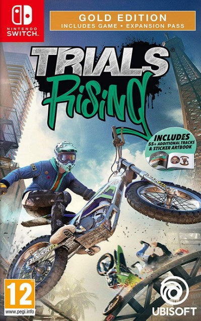Nintendo Switch - Trials Rising Gold Edtion