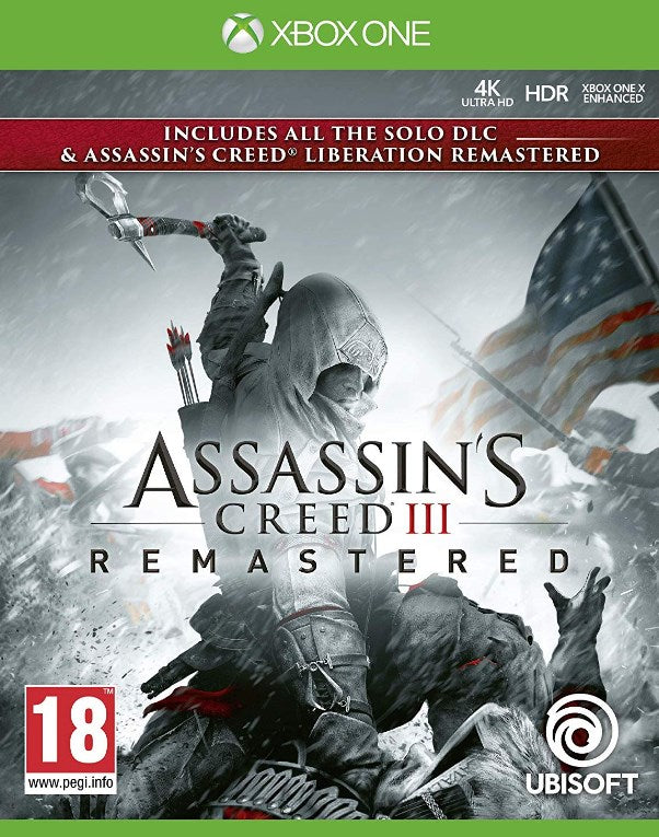 XBOX ONE - Assasins Creed 3 + Liberation Remastered