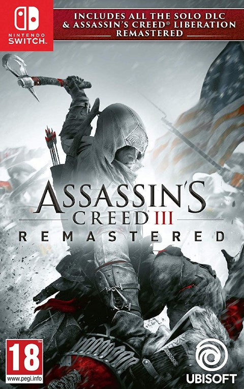 Nintendo Switch - Assasins Creed 3 + Liberation Remastered