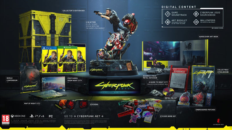 PS4 - Cyberpunk 2077: Collectors Edition