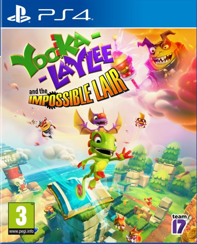 PS4 - Yooka-Laylee and the Impossible Lair