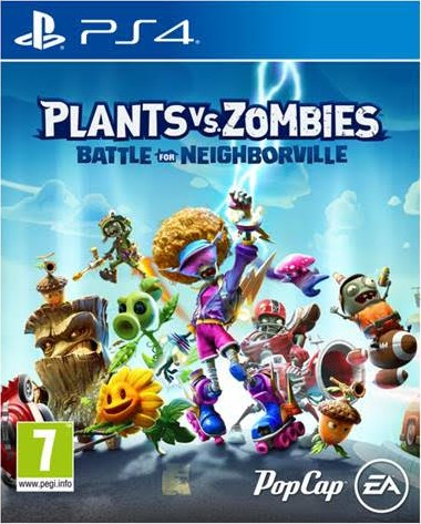 PS4 - Plants VS. Zombies: Battle for Neighborville