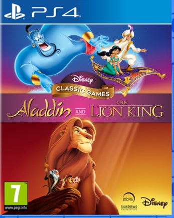 PS4 - DISNEY CLASSIC GAMES: ALADDIN AND THE LION KING