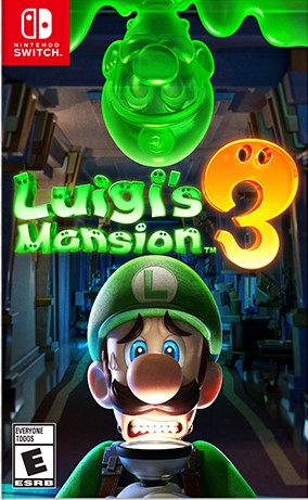 Nintendo Switch - LUIGI´S MANSION 3