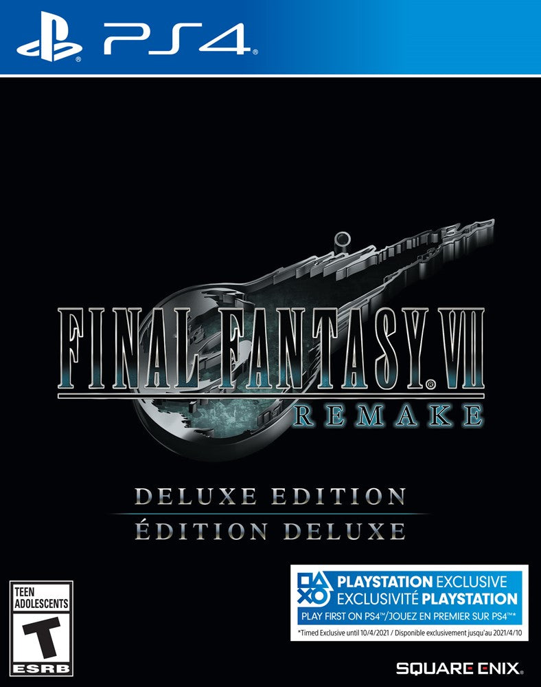 PS4 - Final Fantasy 7 Remake: DELUXE EDITION