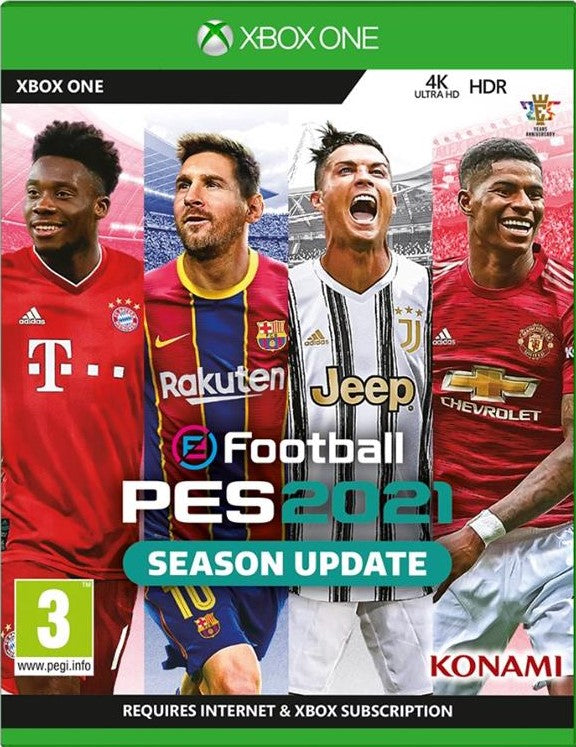 XBOX ONE - Pro Evolution Soccer 2021