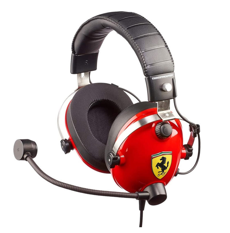 אוזניות גיימינג Thrustmaster T.RACING Ferrari Edition