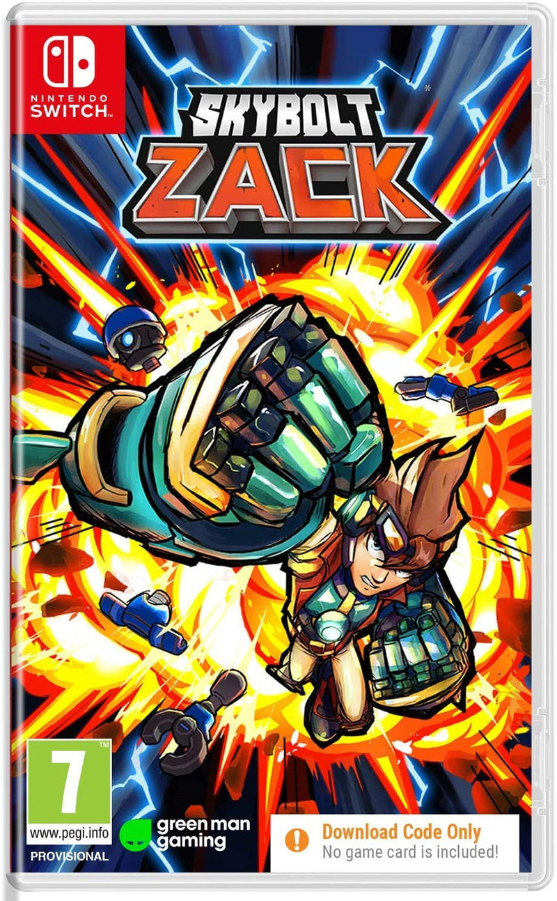 Nintendo Switch - SKYBOLT ZACK