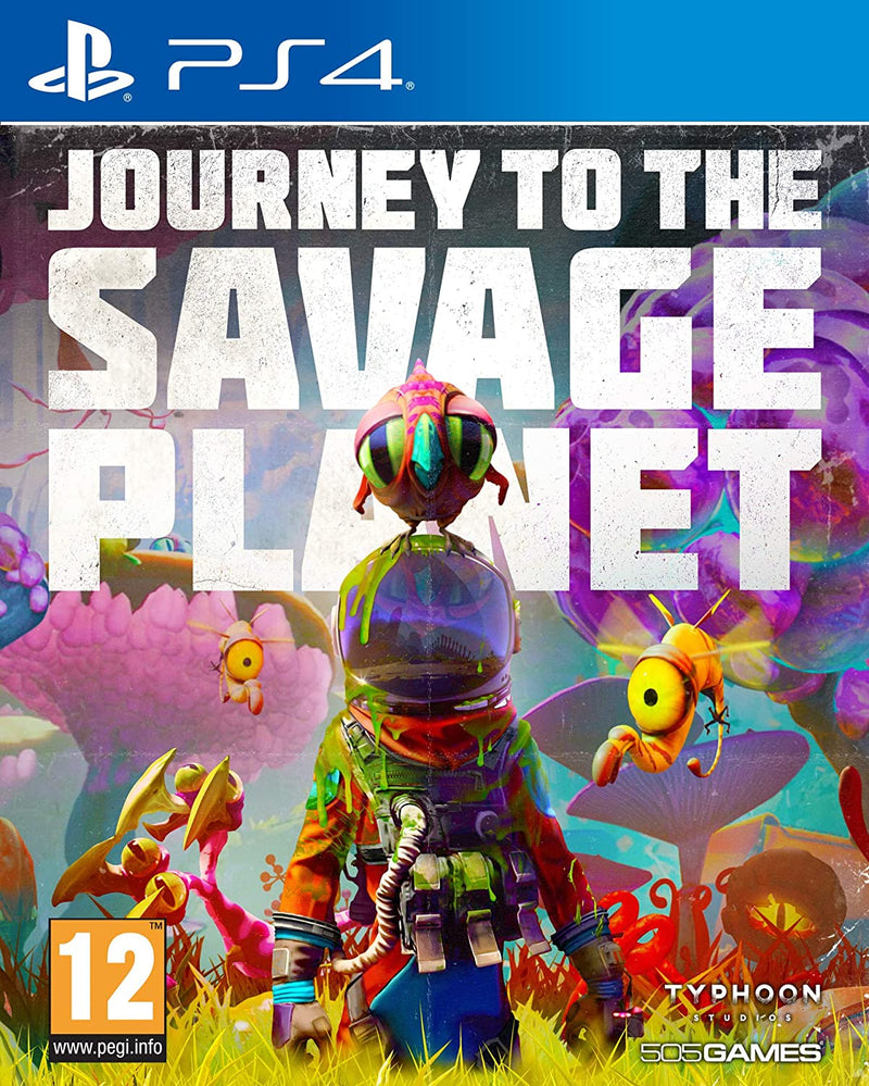 PS4 - Journey to the Savage Planet