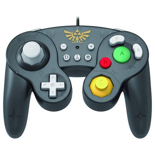 שלט חוטי רטרו לנינטנדו סוויץ' Nintendo Switch - GameCube Zelda Controller