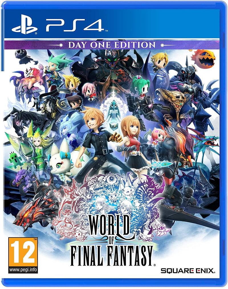 PS4 - WORLD OF FINAL FANTASY